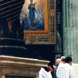 beatificazione di Pierina Morosini da parte di papa Giovanni Paolo II