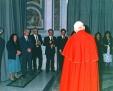 Il papa incontra la famiglia Morosini