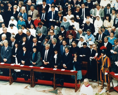 La famiglia Morosini nella Basilica di San Pietro